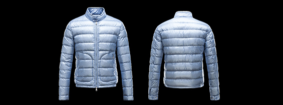 Cheap Discount Moncler Acorus Men's Jackets Blue